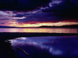 Sunset Over Flathead Lake, Montana, USA Photographic Print by Gareth McCormack