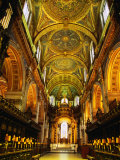 The Choir and Apse of St. Paul's Cathedral Under a Mosaic Ceiling, London, England Photographic Print by Neil Setchfield