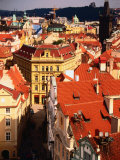 Looking Towards Powder Tower, Prague, Czech Republic Photographic Print by Jonathan Smith