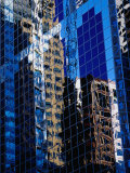 Reflection of City Buildings, Chicago, Illinois, USA Photographic Print by Richard I'Anson