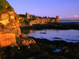 Ruins of St. Andrews Castle at Dawn, St. Andrews, United Kingdom Photographic Print by Jonathan Smith