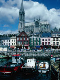 St Coleman's Cathedral and Port of Cobh, Cobh, Ireland Photographic Print by Tony Wheeler