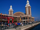 Navy Pier, Chicago, Illinois, USA Photographie par Stephen Saks