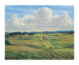 St. Andrews 8th - Short Collectable Print by Peter Munro