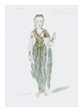 Designs for Cleopatra XLVII Premium Giclee Print by Oliver Messel
