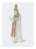Designs for Cleopatra XLVI Premium Giclee Print by Oliver Messel