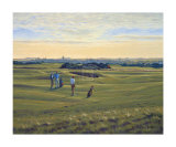 St. Andrews 12th - Heathery (In) Collectable Print by Peter Munro