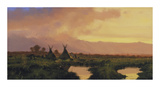 Encampment Premium Giclee Print by Nicholas Coleman