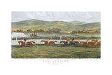 The Finish, Punchestown Premium Giclee Print by John Sturgess
