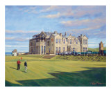 St. Andrews 18th - Tom Morris Collectable Print by Peter Munro