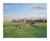 St. Andrews 17th - Road Reproductions de collection par Peter Munro