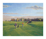 St. Andrews 17th - Road Collectable Print by Peter Munro