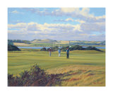 St. Andrews 6th - Heathery (Out) Collectable Print by Peter Munro