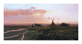 At Dusk Premium Giclee Print by Nicholas Coleman