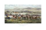 The Start, Punchestown Premium Giclee Print by John Sturgess