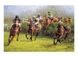 The Grand National (Monty's Pass) Reproduction pour collectionneur par Graham Isom