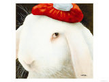 Even My Hare Hurts Giclée-Druck von Will Bullas