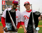 Ryan Howard and Chase Utley Photo