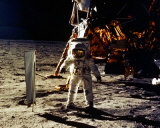 Buzz Aldrin Walks On The Moon Photo