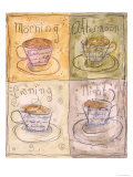 Tea Moods Posters by Heather Ramsey