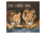 Lions Den Giclee Print by Will Bullas