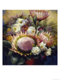 Still Life with Protea Giclee Print by Elizabeth Horning