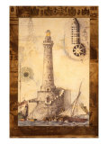 Phare I Reproduction procédé giclée par Susan Gillette