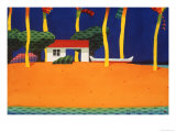 Canoe House/Outrigger Print by Ian Tremewen