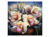 Orchid Sonata Giclee Print by Elizabeth Horning