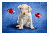 Puppy Lover Giclee Print by Will Bullas