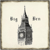 Big Ben Tile Prints by Marco Fabiano