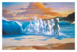The Wave Print by Jim Warren