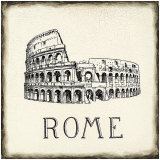 Rome Tile Prints by Marco Fabiano