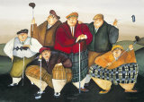 Swingers Poster by Jennifer Garant