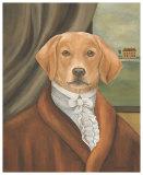 Sir Benjamin Canine Print by Carol Lew