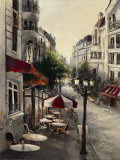 Promenade Cafe Prints by Brent Heighton