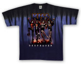 KISS - Destroyer Shirts