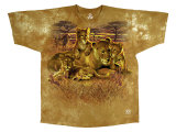 Nature - Lion Family T-shirts