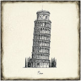 Pisa Tile Print by Marco Fabiano