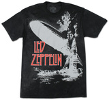 Led Zeppelin - Exploding Zeppelin T-Shirt