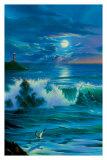 Moonlit Romance Posters af Jim Warren