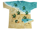 Youth: Nature - Turtle Beach (Front/Nack) T-Shirts