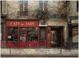 Cafe des Amis Poster by Chiu Tak-Hak