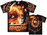 Nature - Tribal Lion T-shirts
