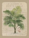 Le Jardin de Monte Carlo Posters af Hugo Wild