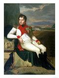 Louis Bonaparte, Gallery of Modern Art, Florence Giclee Print by Jean-Baptiste Joseph Wicar
