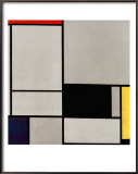 Composition No. 2 Prints by Piet Mondrian