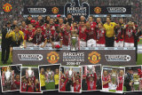 Manchester United- Barclays Premiership Champions 2006-2007 Posters