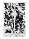 Architectonic Project for the Layout of Piazza San Pietro and the Surrounding Areas Giclee Print by Cosimo Morelli