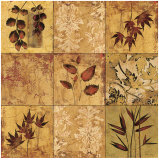 Array of Leaves Prints by Matina Theodosiou
